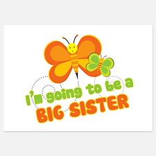 Big Sister Butterflies 5x7 Flat Cards