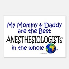 Best Anesthesiologists In The World Postcards (Pac