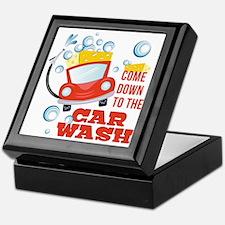 The Car Wash Keepsake Box