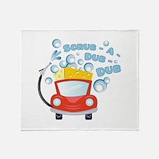 Scrub A Dub Throw Blanket