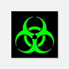 "Unique Nuclear Square Sticker 3"" x 3"""