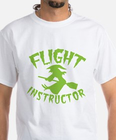 Flight instructor wickedy witch on a broom T-Shirt