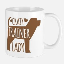 Crazy (DOG) TRAINER lady Mugs