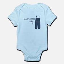 Blue Jean Baby Body Suit