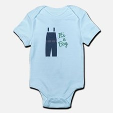Its A Boy Body Suit
