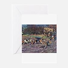 Cute Beagle Greeting Cards (Pk of 10)