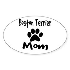 Boston Terrier Mom Decal