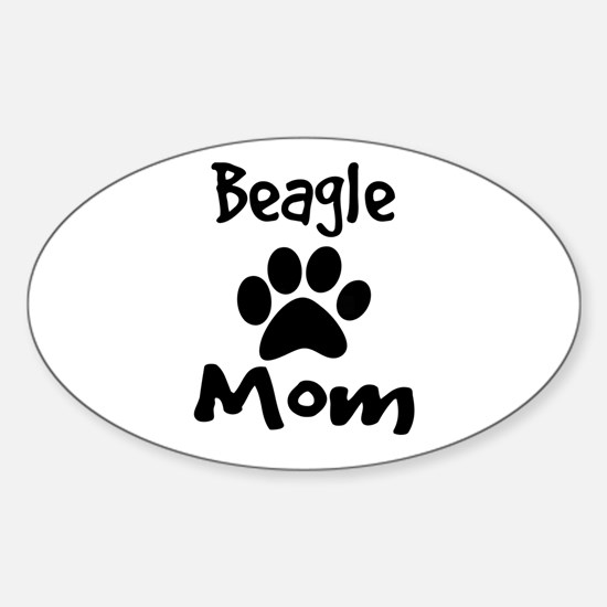 Beagle Mom Decal