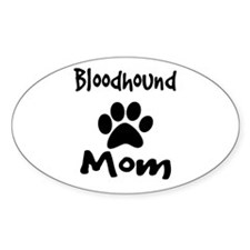 Bloodhound Mom Decal