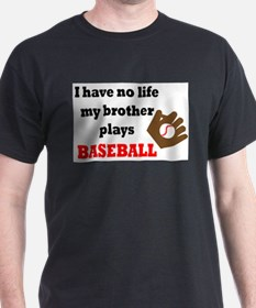 Unique Little brother baseball T-Shirt