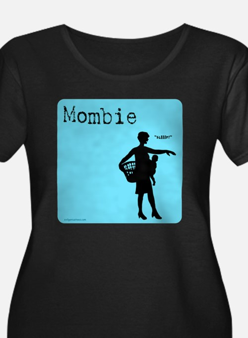 mombie2 Plus Size T-Shirt