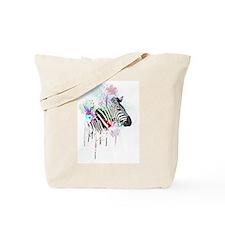 Cute Zebra print Tote Bag