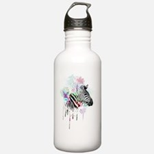 Cute Watercolor Sports Water Bottle