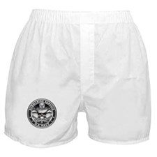 USN Submarine Service Bordered Boxer Shorts