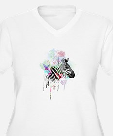 WATERCOLOR INK Plus Size T-Shirt