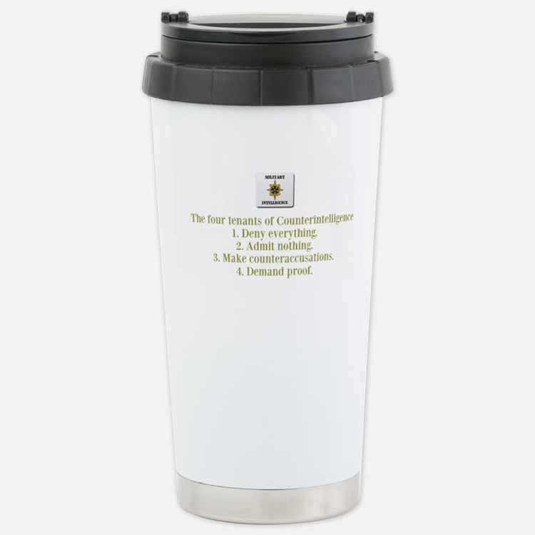 Cute Military intelligence Travel Mug