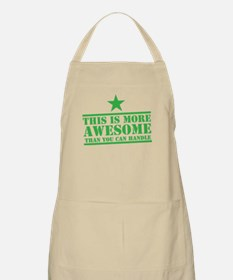 THIS is more AWESOME than you can HANDLE Apron