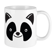 Super Kawaii panda Face smiling Mugs