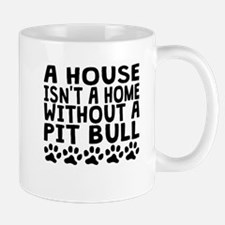 Without A Pit Bull Mugs