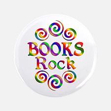 Colorful Books Rock Button