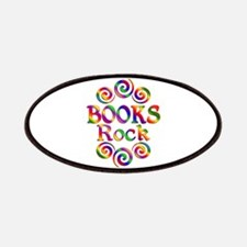 Colorful Books Rock Patch