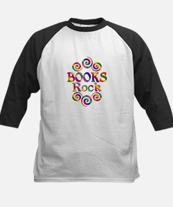 Colorful Books Rock Tee