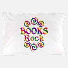 Colorful Books Rock Pillow Case