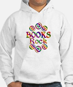 Colorful Books Rock Hoodie