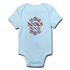 Colorful Books Rock Infant Bodysuit