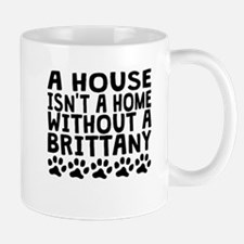Without A Brittany Mugs