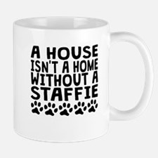 Without A Staffie Mugs