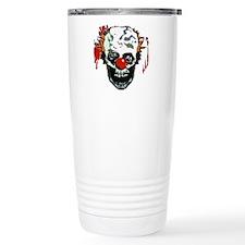 Zombie clown Travel Mug