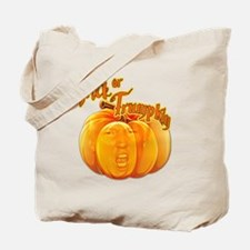 Funny Donald Trump Trick or Trumpkin Hall Tote Bag