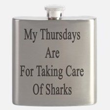 My Thursdays Are For Taking Care Of Sharks  Flask