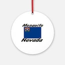 Mesquite Nevada Ornament (Round)