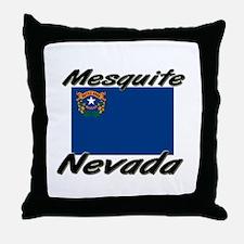 Mesquite Nevada Throw Pillow