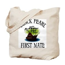 Black Pearl First Mate Tote Bag