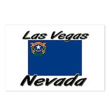Las Vegas Nevada Postcards (Package of 8)