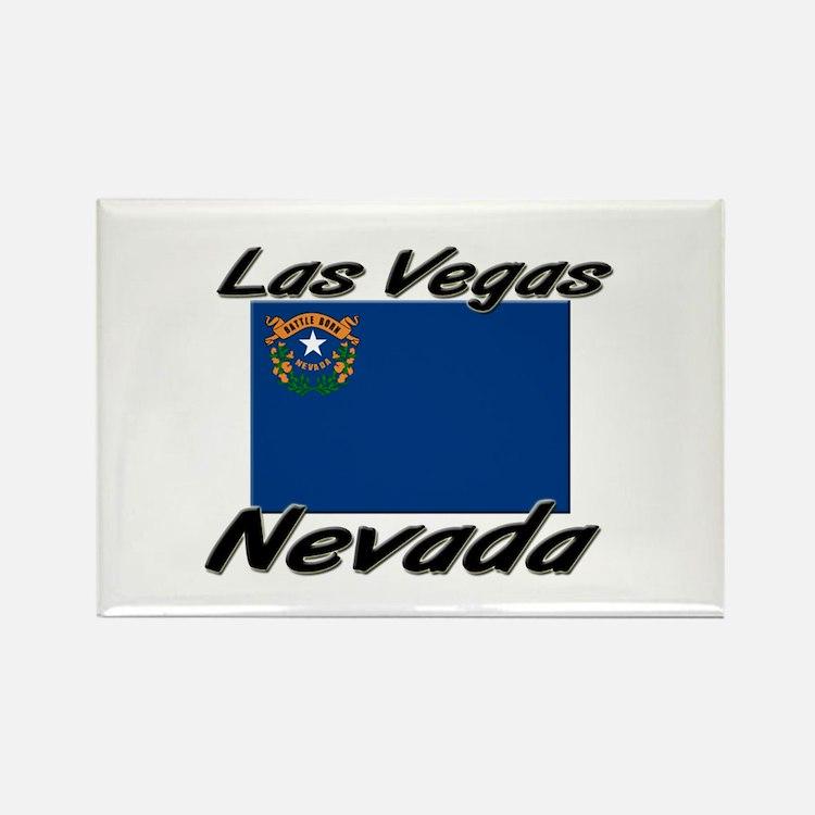 Las Vegas Nevada Rectangle Magnet
