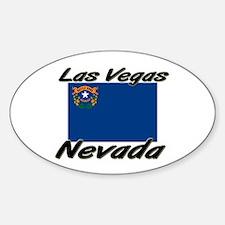 Las Vegas Nevada Oval Decal