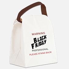 WARNING - BLACK FRIDAY PROFESSION Canvas Lunch Bag
