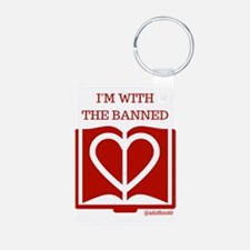 Cute Book banning Keychains