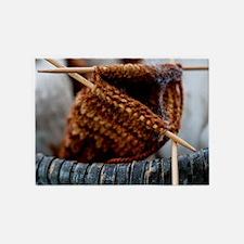 Organic Yarn 5'x7'area Rug