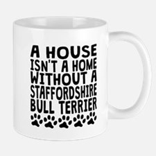 Without A Staffordshire Bull Terrier Mugs