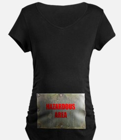 10x10rustyplate Maternity T-Shirt