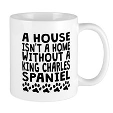 Without A King Charles Spaniel Mugs