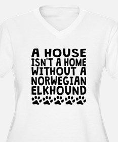 Without A Norwegian Elkhound Plus Size T-Shirt