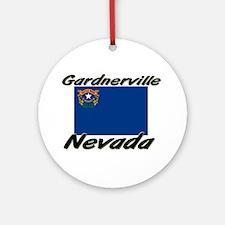 Gardnerville Nevada Ornament (Round)