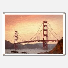 Golden Gate Bridge Inspiration Banner