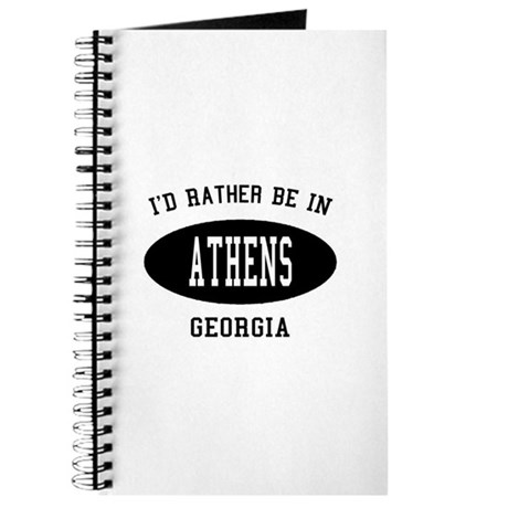 I'd Rather Be in Athens, Geor Journal